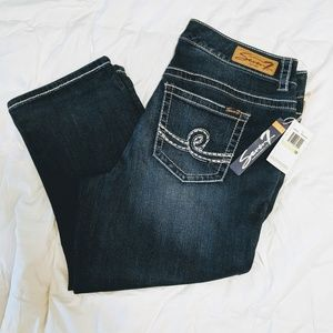 🆕👖 Seven7 Luxe Cropped Denim Jeans Size 18 NWT